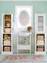 organizing a drawer less bathroom
