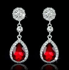 drop earrings brand fashion crystal jewelry big platinum plated dangle water drop earrings women dangle chandelier ear rings ear drop earing