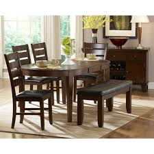 Oval Table Dining Room Sets Dining Table With Built In Leaf R Douglas Home Butterfly Leaf
