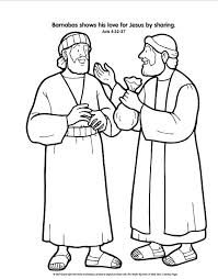 Apostle Paul Coloring Page And Coloring Page Acts Of The Apostles