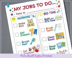 Printable Daily Activity Chart Airsentry Info