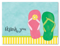 Summer Thank You Fun Flips Thank You Cards Stationery Thank You Cards 20737