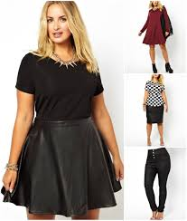 leather skirts and dresses
