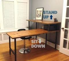 rustic desk home office. Modern Rustic Office Furniture Industrial Desk Handcrafted Home