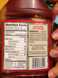 heinz ketchup nutrition facts so onto the ingsheinz ketchup nutrition facts