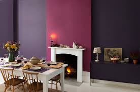 Kitchen Feature Wall Purple Wall In Kitchen 20283420170518 Ponyiexnet Interesting