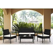 Amazon Patio Furniture Set Clearance Rattan Wicker Dining