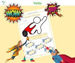 Verb Action Verb Action Hero Apple For The Teacher Ltd