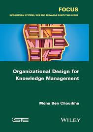 Organizational Design For Knowledge Management Cover Page Organizational Design For Knowledge Management