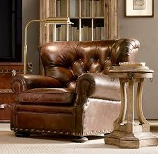 Leather Chairs Living Room
