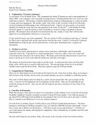 Business Plan Samples Resume Templates Restaurant Example Pdf Best