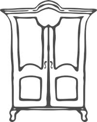 dresser clipart black and white. Interesting White Closet Images Throughout Dresser Clipart Black And White