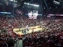 Thomas And Mack Center Section 119 Rateyourseats Com