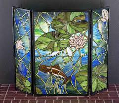 leaded glass fireplace screens exquisite ideas bathroom is like leaded glass fireplace screens
