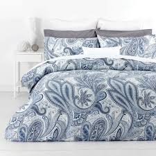 41 best Quilt covers images on Pinterest | Bedding sets, Bedding ... & In 2 Linen PAISLEY BLUE Floral 300TC Cotton Quilt Doona Cover Set RRP:$169 Adamdwight.com