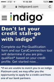 We did not find results for: Indigo Platinum Mastercard Review Pre Qualify With No Hard Pull
