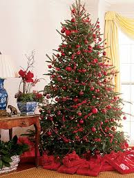 ... Peachy Decorated Red Christmas Tree Surprising Best 25 Trees Ideas On  Pinterest ...
