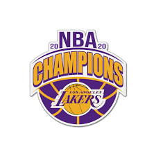Lakers logo stock photos lakers logo stock images alamy. Los Angeles Lakers 2020 Nba Champions Magnet