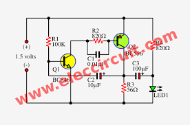 this is a low voltage led flasher or 1 5v led flasher circuit this is a low voltage led flasher or 1 5v led flasher circuit using bc556 and