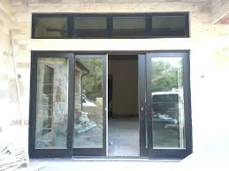 4 panel sliding patio doors and window door size