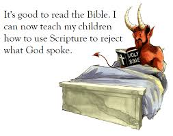 Don't Quote Scripture Like Satan Delectable How To Quote The Bible