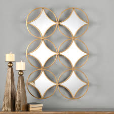 ... Marvellous Inspiration Geometric Wall Mirror Nice Ideas Unbelievable  Uttermost Zamora ...