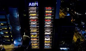 Autobahn Vending Machine Enchanting Singapore Has The World's Largest Luxury Car Vending Machine