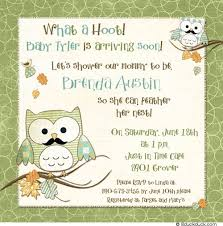 And Adorable Owl Baby Shower Invitations Bs221Owl Baby Shower Invitations For Boy