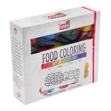 Colorante Vegetal Badia Para Alimentos 4 Pzas