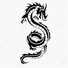 Dragon Design Dragon Vector Illustration For Tattoo Design And Other Design