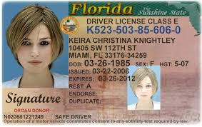 Driving Change In Licence Florida Bc Address