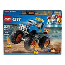monster truck lego set