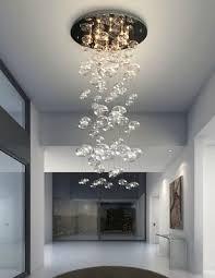 new 23 modern hanging glass orbs chandelier pendant ten lights stainless mount