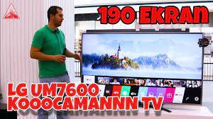 BATTAL BOY TV LG 75UM7600 4K WEBOS SMART TV İNCELEME 📺 - YouTube