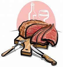prime rib dinner clip art. Contemporary Prime Steak Dinner Clipart Inside Prime Rib Clip Art