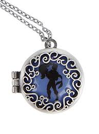 Small Picture Amazoncom Disney The Little Mermaid Ariel Eric Silhouette Locket