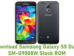 Samsung Galaxy S5 Duos SM-G9008W Stock ROM