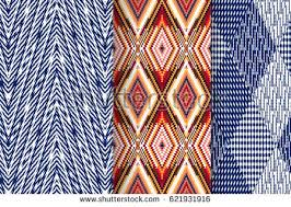 Textile Patterns Cool Set 48 Abstract Patterns Seamless Geometric Stock Vector Royalty