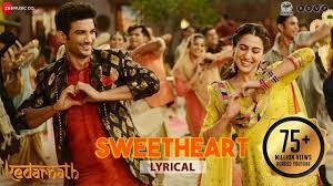 Sweetheart - Lyrical