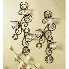 modern candle wall sconces black iron for candles mid century wrought restoration hardware sconce holders target