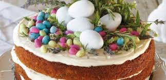 Farm Carrot Cake With Easter Eggs Food24