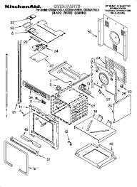kebs277dwh1 built in electric oven oven parts diagram