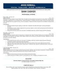 Sample Resume For Cashier In Restaurant Cashier Resume Cashier Job