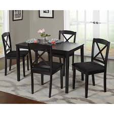 Living And Dining Room Furniture Mason 5 Piece Cross Back Dining Set Multiple Colors Walmartcom