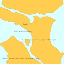 Seattle Puget Sound Washington Tide Chart