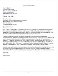 Resume College Application Cover Letter Sample Best Inspiration