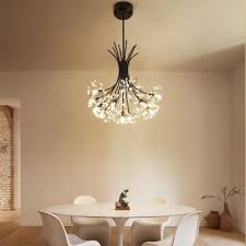 dutti d0012 led pendant light scandinavian style warm bedroom chandeliers postmodern simplicity living room lamp dandelion