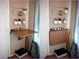 fold up wall table fold down