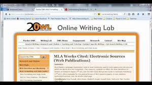 Quick Demo Mla Documentation In Text Works Cited Page
