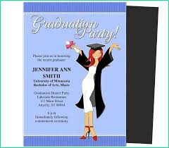 Graduation Invitation Templates Microsoft Word Creative Microsoft Word Graduation Announcement Templates With Free